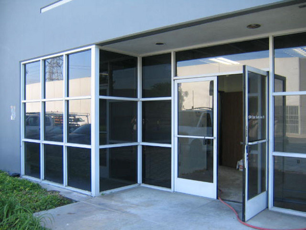 Aluminum Storefronts Richardson Glass Service