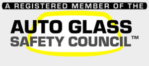 Registered Member of Auto Glass Safety  Council